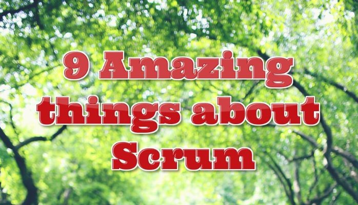 9 Amazing things about Scrum